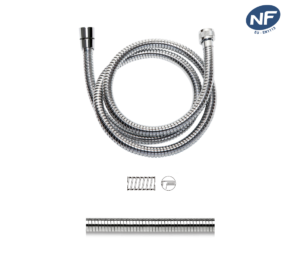 Disflex shower hose metal